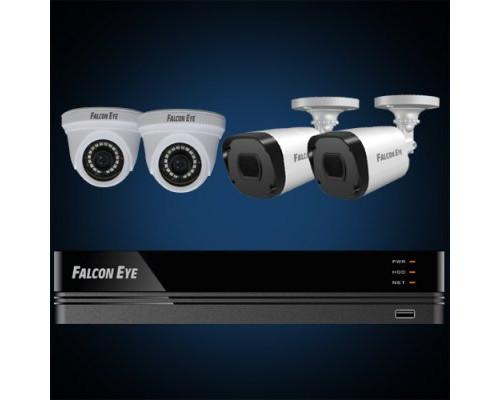 Комплект видеонаблюдения FE-104MHD KIT Офис SMART