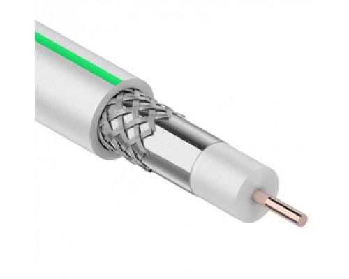 Кабель коаксиальный PROconnect SAT 703 B, CCS/Al/Al, 75%, 75 Ом, бухта 100 м, белый