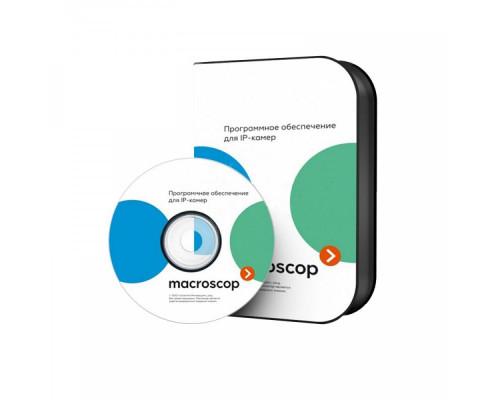 Macroscop ST Резервирование 1 канала с отображением