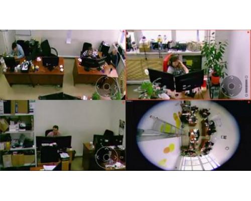 Macroscop ST Модуль Развертка Fisheye-камер