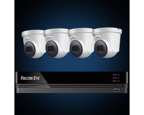 Комплект видеонаблюдения FE-104MHD KIT Дом SMART
