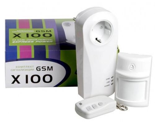 X100 комплект GSM-сигнализации