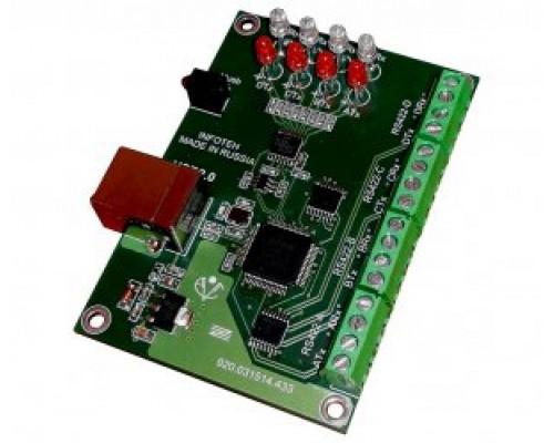 AVT-USB/4RS422